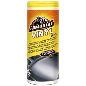 Armor All Wipes Purkki Kumi&Muoviliina Kirkas 25kpl