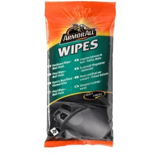 Armor All Wipes Pussi Kumi&Muoviliina Matta 20 Kpl