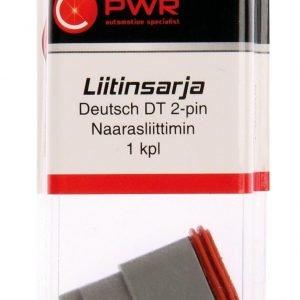 C-Pwr Dt 2-Pin Naarasliitin Liitinsarja