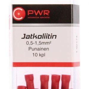 C-Pwr Jatkoliitin Punainen 10 Kpl
