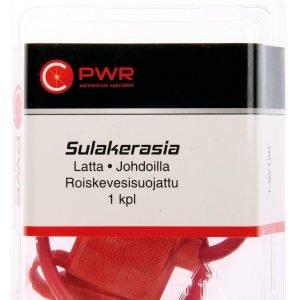 C-Pwr Sulakerasia Lattasulakkeelle Roiskevesisuojattu