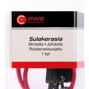 C-Pwr Sulakerasia Mini Lattasulakkeelle Roiskevesisuojattu