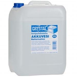 Crystal 10 L Akkuvesi