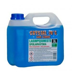 Crystal 3 L Lasinpesuneste -70 °C