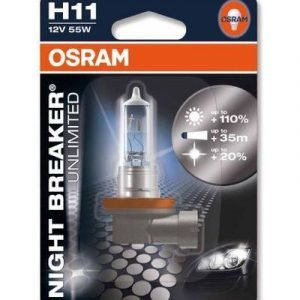 Osram H11 Night Breaker Unlimited Polttimo