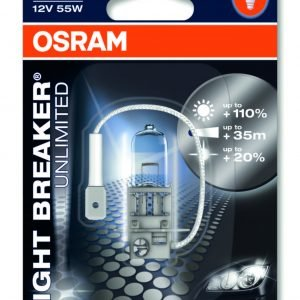 Osram H3 Night Breaker Unlimited Polttimo