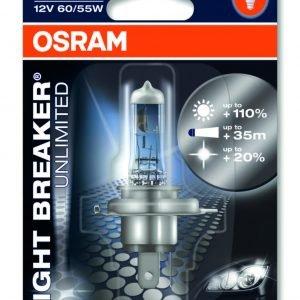 Osram H4 Night Breaker Unlimited Polttimo