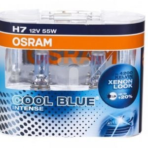 Osram H7 Cool Blue Intense Duo Box