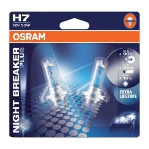 Osram Night Breaker Plus Polttimopari 12 V