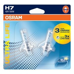 Osram Ultra Life H7 Polttimopari