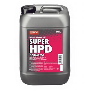 Teboil Super Hpd 10w-30 10 L Dieselmoottoriöljy