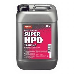 Teboil Super Hpd 15w-40 10 L Dieselmoottoriöljy