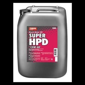 Teboil Super Hpd 15w-40 Moottoriöljy