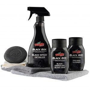 Turtle Wax Black Box -kit: 3-Osainen Autonhoitopaketti Mustille Autoille