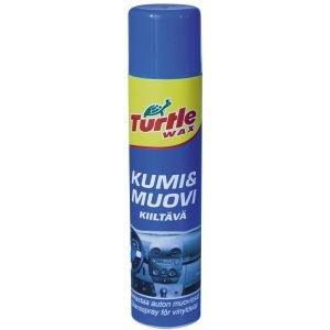 Turtle Wax Kumi&Muovi Sisätilojen Kirkaste Kiiltävä 400ml