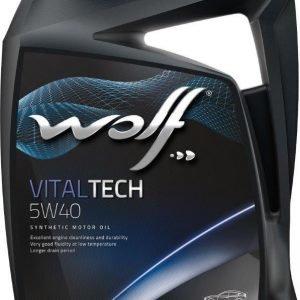 Wolf Vitaltech 5w40 5 L Moottoriöljy