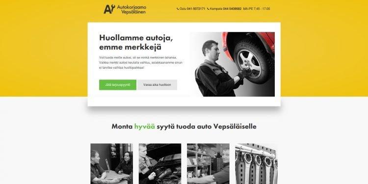Autokorjaamo H & J Vepsäläinen