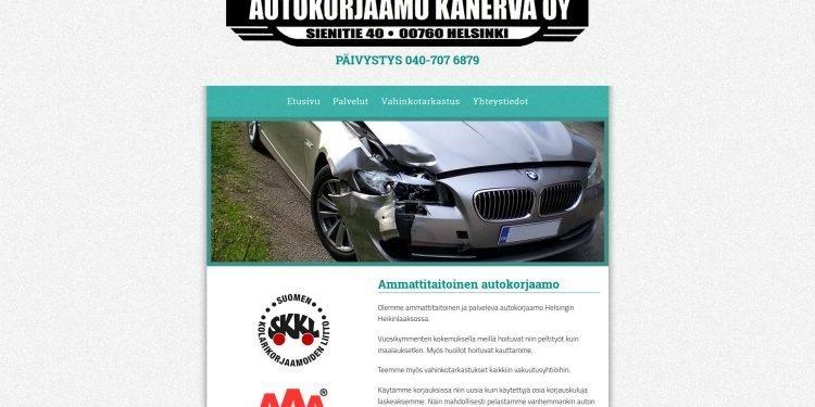 Autokorjaamo Kanerva Oy