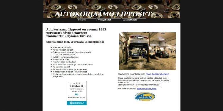 Autokorjaamo Lipposet