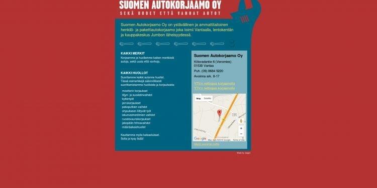 Suomen Autokorjaamo Oy